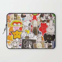 Kaws Art Style Laptop Sleeve