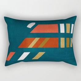 A Sophisticated Cheetah Rectangular Pillow