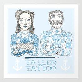 Taller Tattoo Art Print