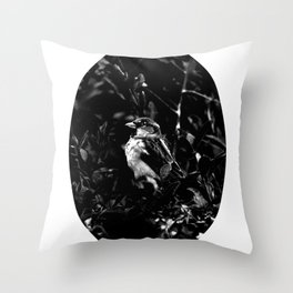 on the side of the bird's eye Throw Pillow