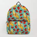 Strawberry Banana Pattern by kellygilleran