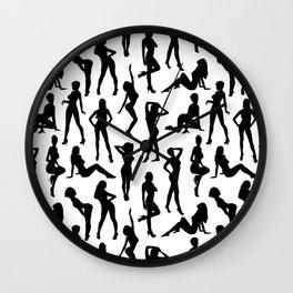 Femmes Wall Clock