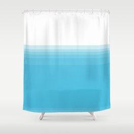 water below water Shower Curtain