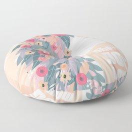 She's Got Moxie Floor Pillow