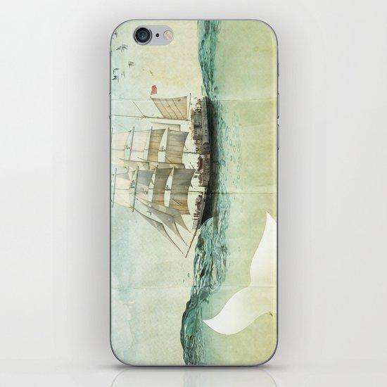 white tail iPhone & iPod Skin