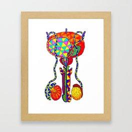 Testiculus Framed Art Print