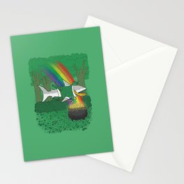 The Lucky Shark Stationery Cards
