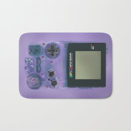 Classic retro transparent purple game watch iPhone 4 5 6 7 8, tshirt, mugs and pillow case Bath Mat