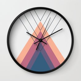 Iglu Sunset Wall Clock