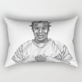 Crazy Eyes from OITNB Rectangular Pillow