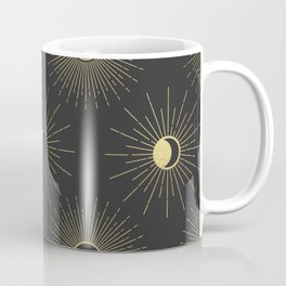 Moon and Sun Theme Coffee Mug
