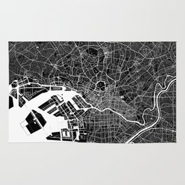 Tokyo - Minimalist City Map Rug