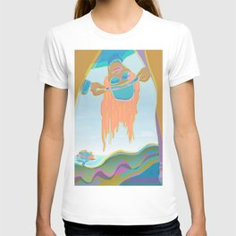 Long Hair and Hat When I was Young T-shirt