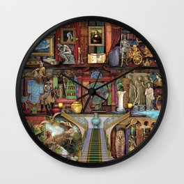 The Museum Shelf Wall Clock