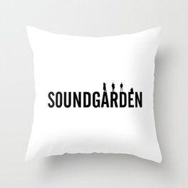 soundgarde Throw Pillow