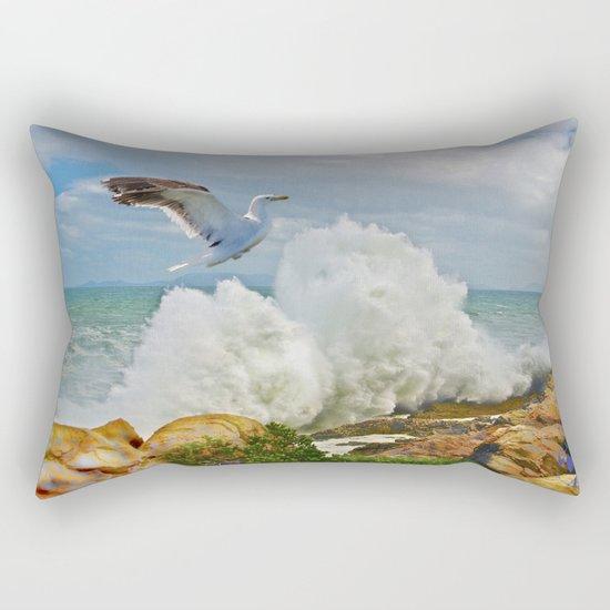 Balanced Arrival Rectangular Pillow