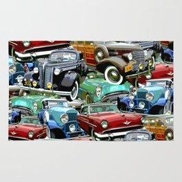 Classic Cars (K.T.B.) Rug