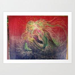 LoveCandy Art Print