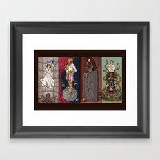 The Haunted Galaxy Framed Art Print