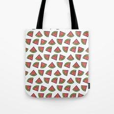 Chunks of Watermelon Tote Bag