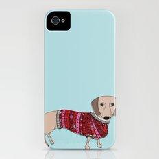 Sausage Dog iPhone (4, 4s) Slim Case