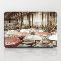 coke iPad Cases featuring Forgotten Coke by Jonathan May