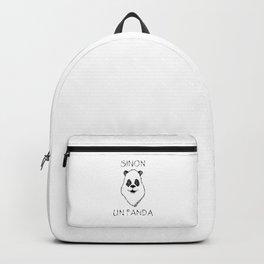 Sinon, un panda (5) Backpack