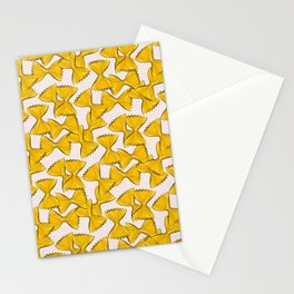 Pasta bow Stationery Cards