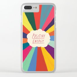 Positive Energy Clear iPhone Case
