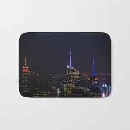 NYC Iconic Night Sky Bath Mat