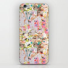 Abstract Springtime Watercolor Pattern iPhone & iPod Skin