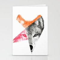 eric fan Stationery Cards featuring Wild by Eric Fan & Garima Dhawan by Garima Dhawan