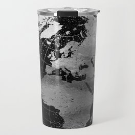 Old Metal Chart of the Earth Travel Mug