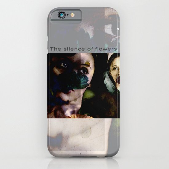 The silence of flowers iPhone & iPod Case