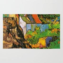 Vincent Van Gogh - House in Auvers Rug