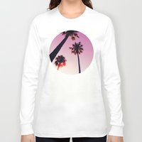 palm tree Long Sleeve T-shirts featuring Palm tree by Emma.B