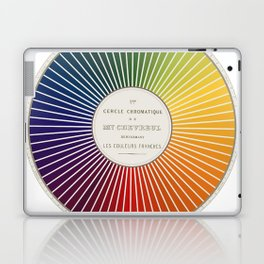 Chevreul Cercle Chromatique, 1861 Remake, renewed version Laptop & iPad Skin