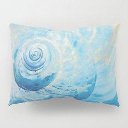 Blue Shell Pillow Sham