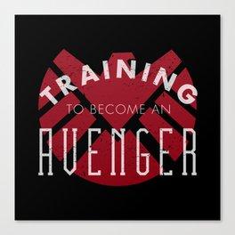 Training: Avenger Canvas Print