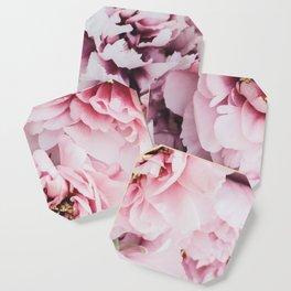 Pink Blush Peonies Coaster