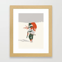 Bringing Back The Kill Framed Art Print