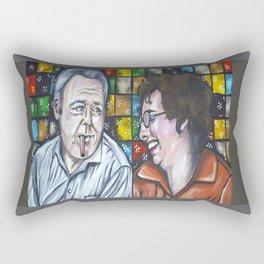 Archie & Edith Bunker  Rectangular Pillow