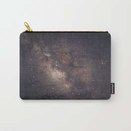 Milky Way photographed in Capitol Reef National Park, Utah Carry-All Pouch