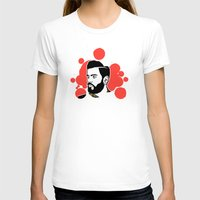 hipster T-shirts featuring hipster by mark ashkenazi