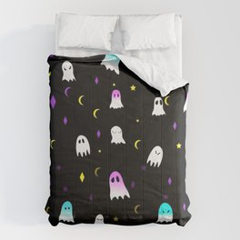 colorful ghost Comforters