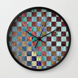 CHECKER Wall Clock