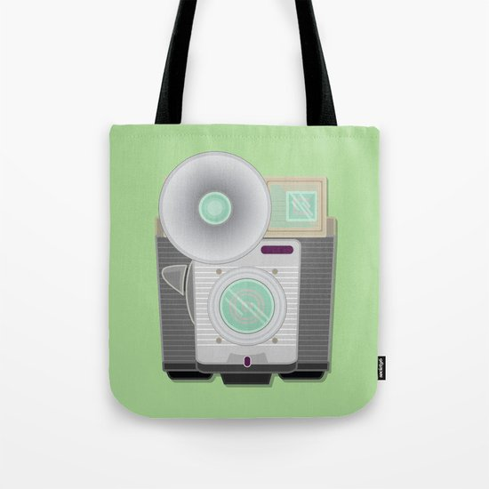 Retro Cam Tote Bag