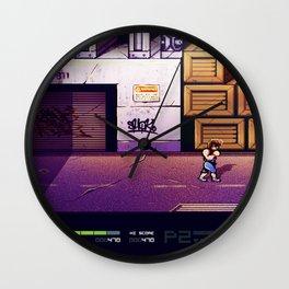 Doble Dragon 2 Wall Clock