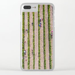 Grape Vine Clear iPhone Case