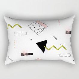 Memphis rose Rectangular Pillow